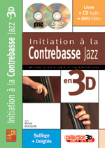 Initiation à la contrebasse jazz en 3D